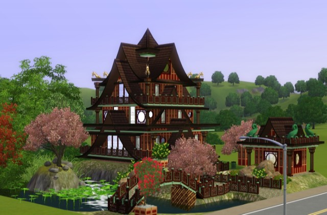 Small Chinese Palace by JarkaD