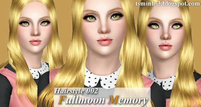 Hairstyle 002 - FullMoon Memory by Tsminh_3
