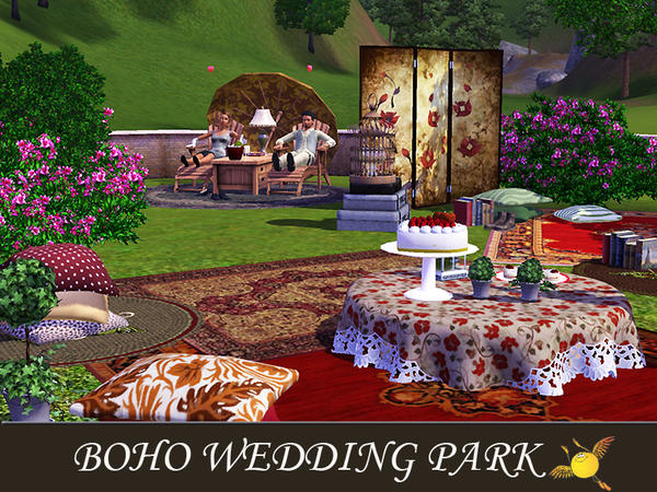 Boho Wedding Park by evi