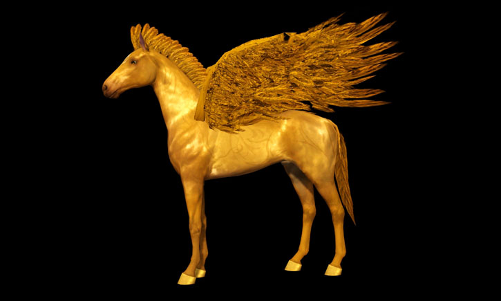 Pegasus Set - Manes, Tails & Wings by Schrodingercatproductions