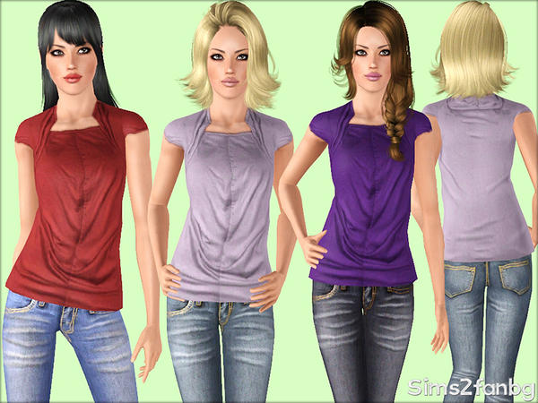 358 - Casual set by sims2fanbg