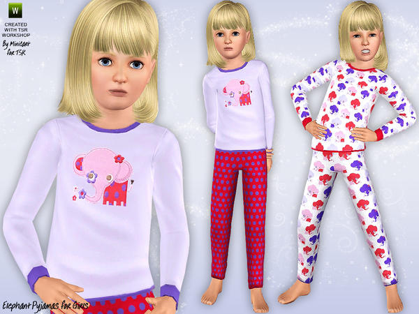 Elephant Pyjamas by minicart