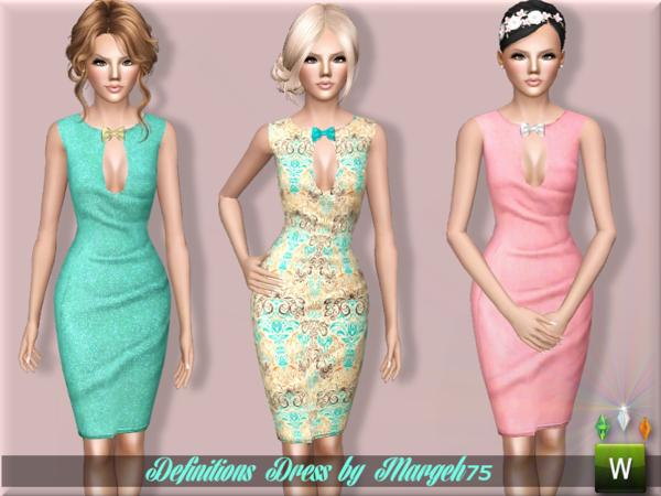 Definitions Dress by Margeh-75