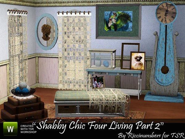 Shabby Chic Four Part 2 by riccinumbers