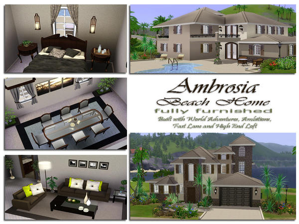 Ambrosia Fully Furnished by aloleng