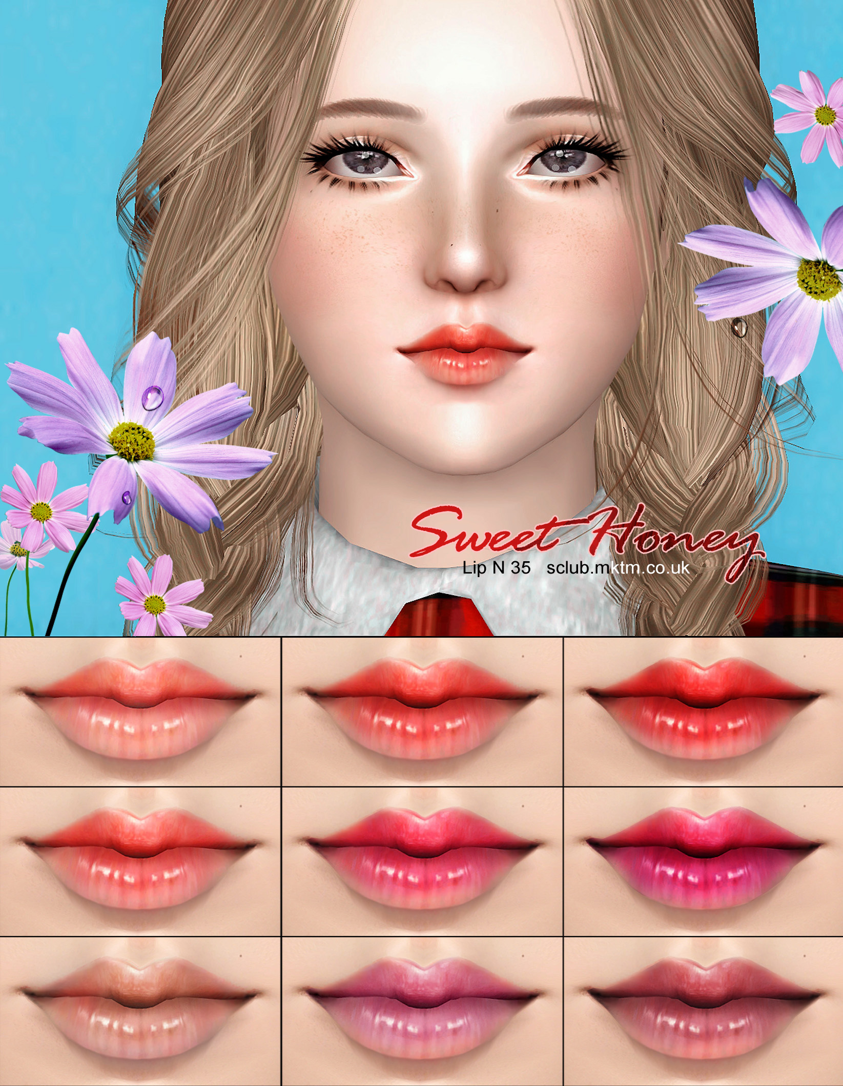 Lipstick N35 by S-Club