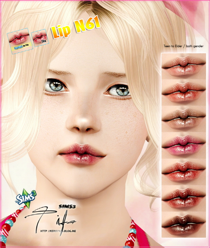 Lip N61 by Tifa