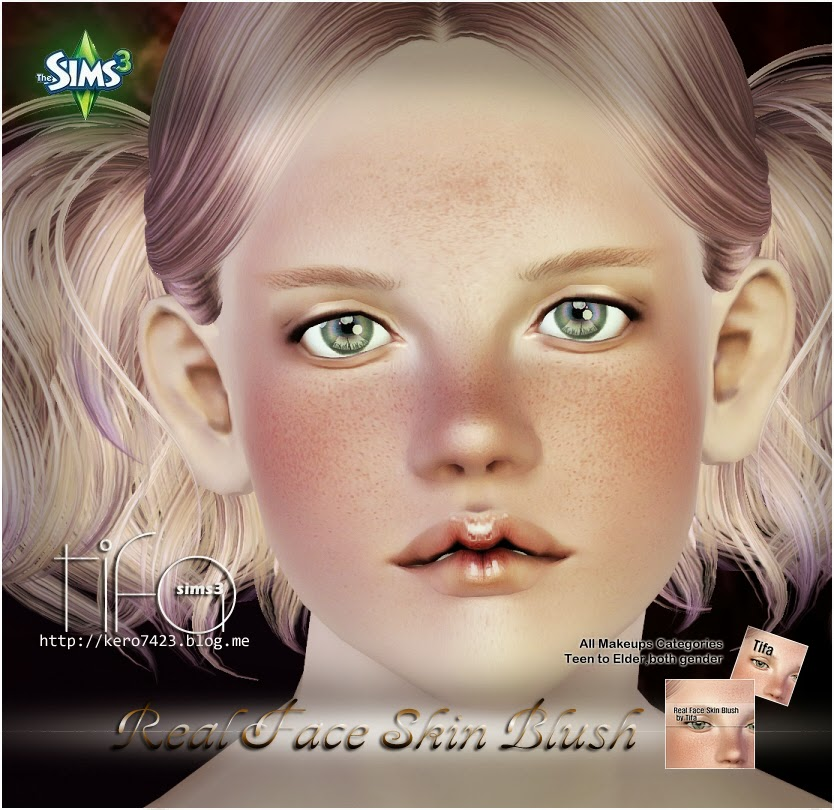 Real Face Skin Blush by Tifa