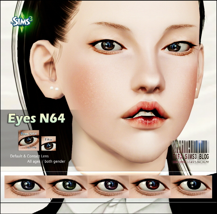 Eyes N64 by Tifa
