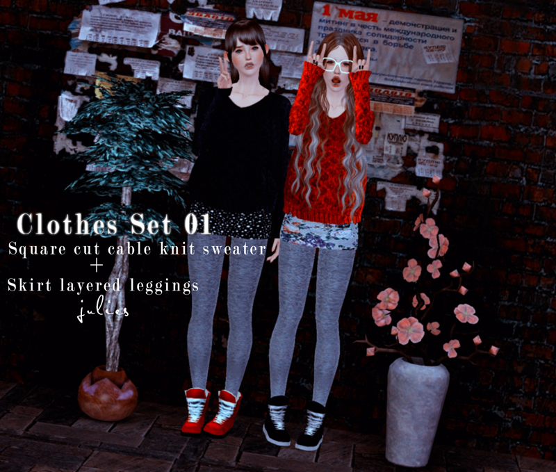 Clothes set N1 by Julies