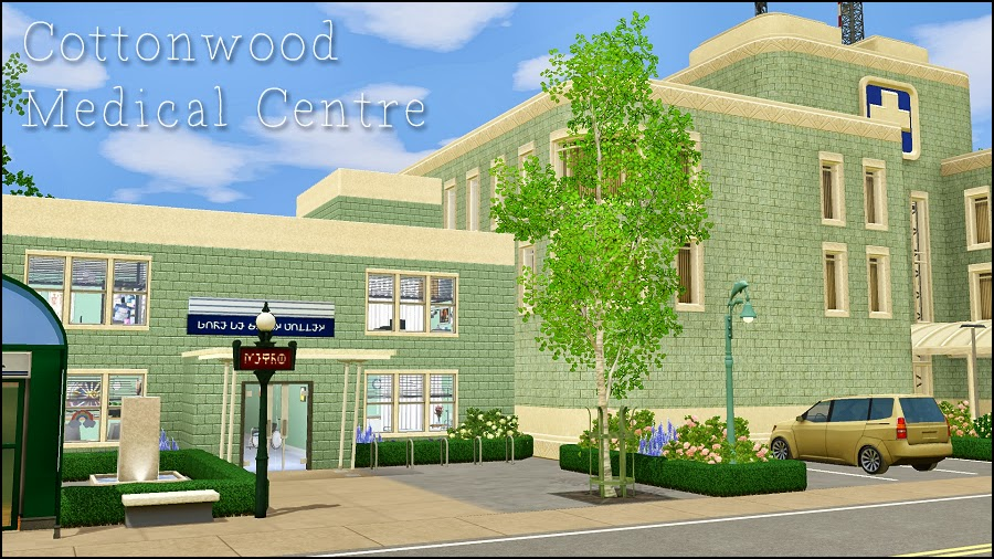 Cottonwood Medical Centre by Martine