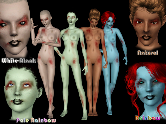 Halloween Skin NonDefault by tati