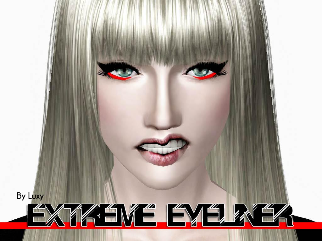 Extreme Eyeliner by Luxysims