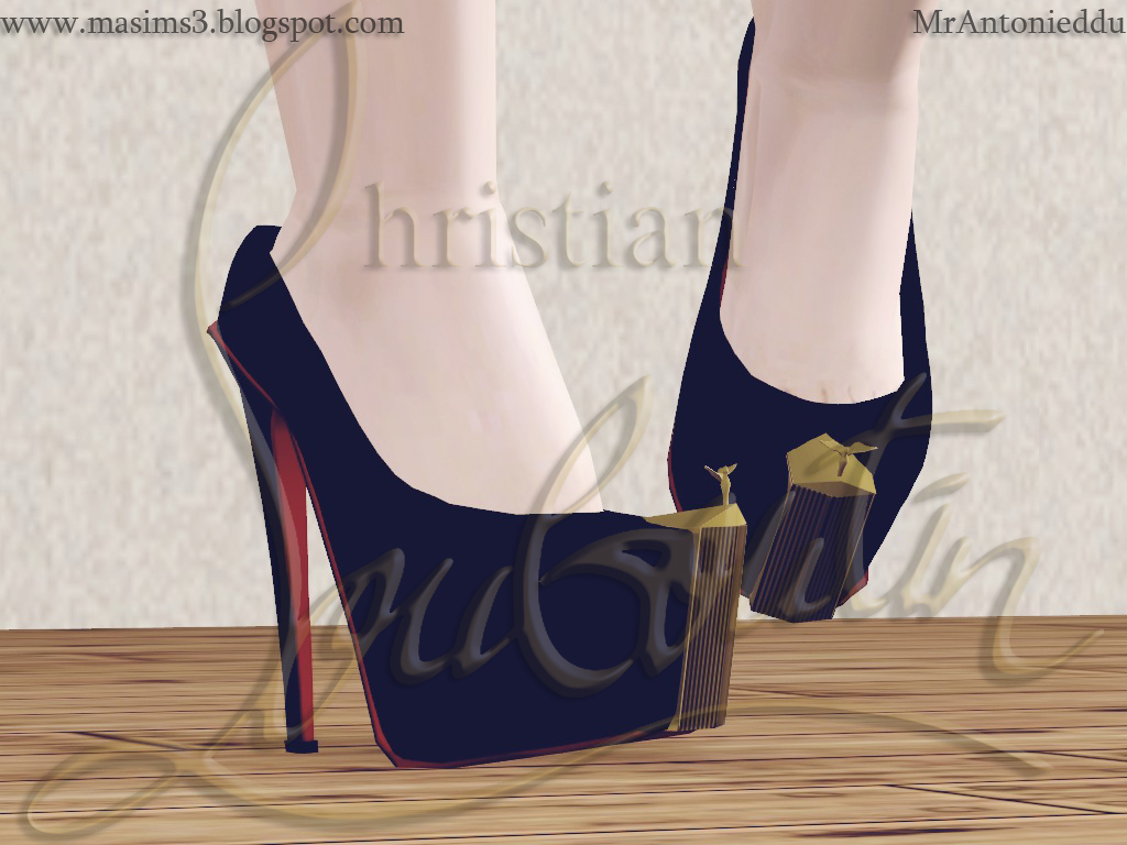 Christian Louboutin Rolls Royce Limited Edition 3D Pumps by MrAntonieddu