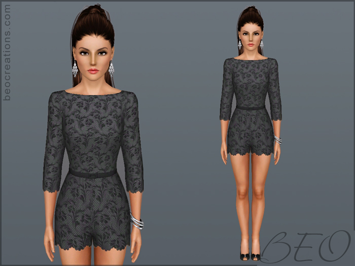 Lace Overall by BEO