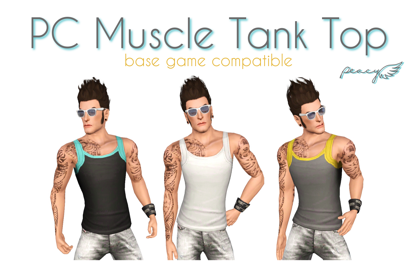 Muscle Tank Top by Peacemaker ic