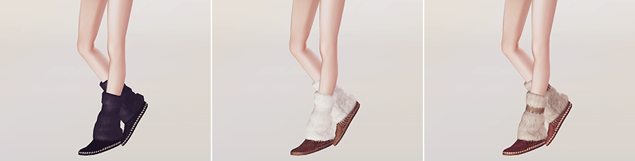 Moccasin Boots by Rukisims