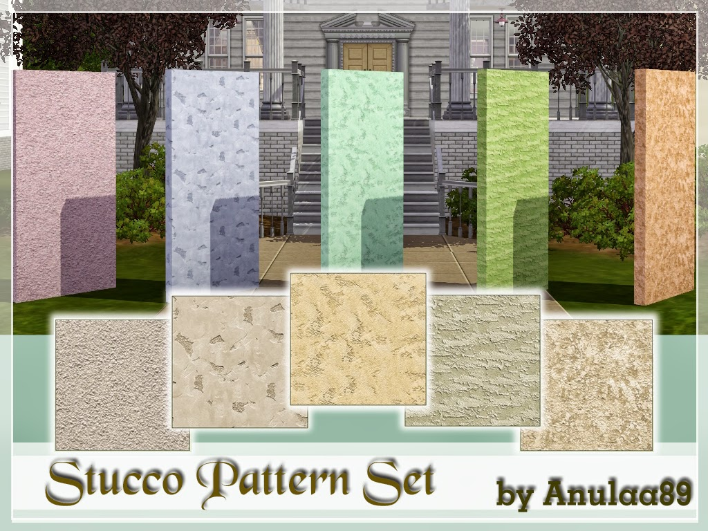 Stucco Patterns by Anulaa89