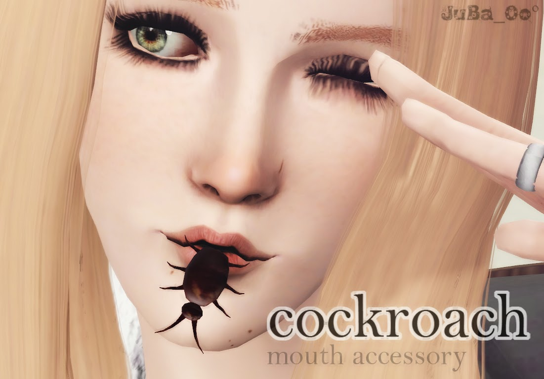 Cockroach Mouth Accessory by JuBa_0o