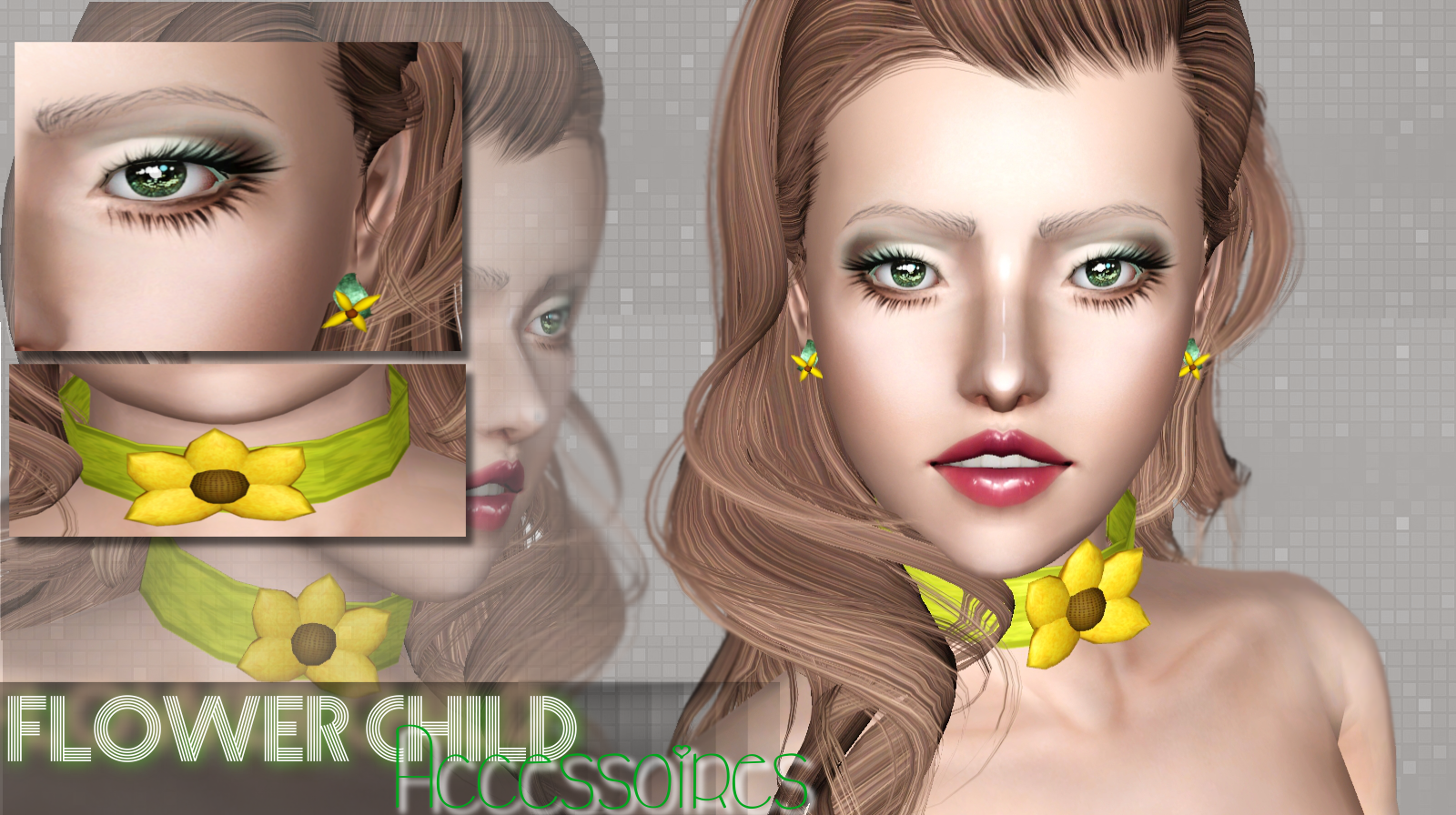 Flower Chold - an Accessory Set by WhiteCrow