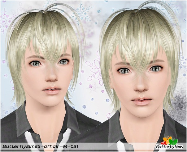 M-hair031 by ButterflySims