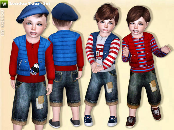 London Tour - Toddler Boy Set by lillka