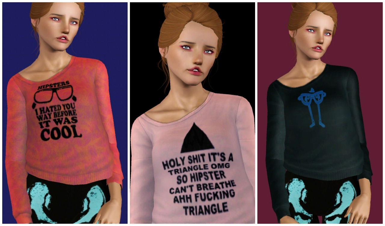 Hipster Sweaters by Yuli