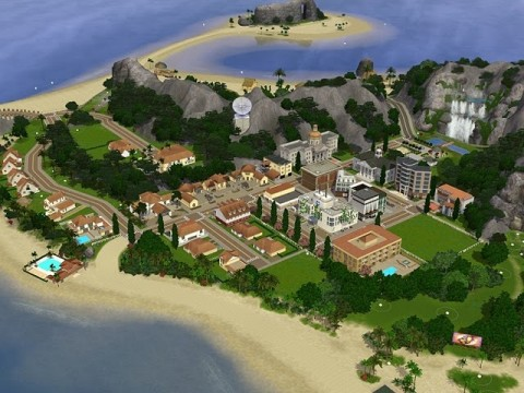 Isle of Sims II Vacation Edition от Rflong7
