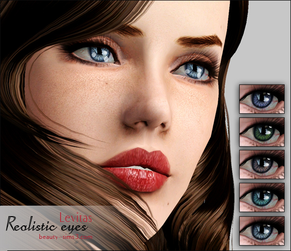 Realistic Eyes by Levitas
