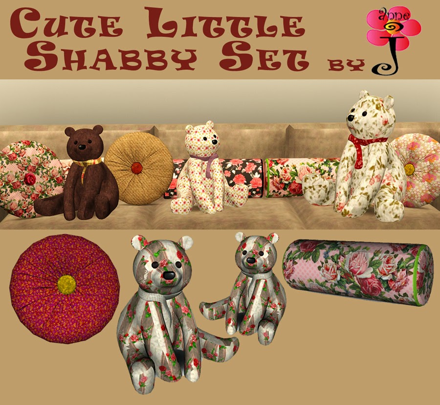 Cute Shabby clutter set by annej