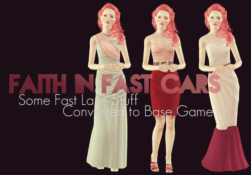 FLS Base Game Compatible Conversions + Bonus HELS Dress by Simpulse