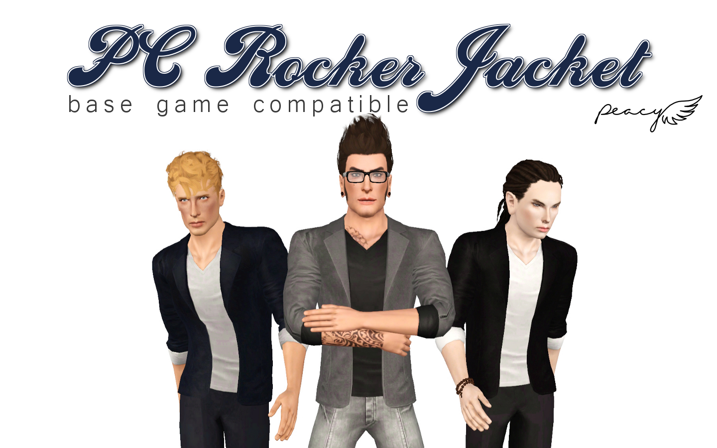 Base Game Compatible Rocker Jacket by Peacemaker ic