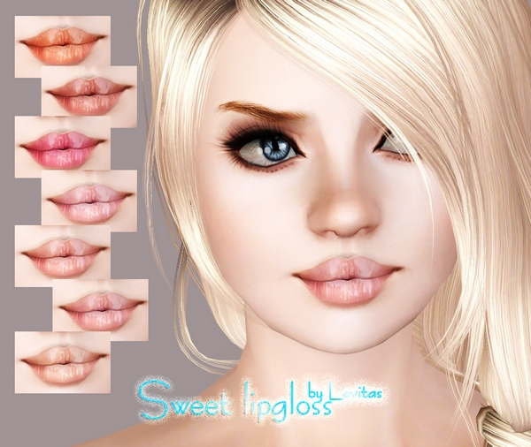 Sweet Lipgloss by Levitas