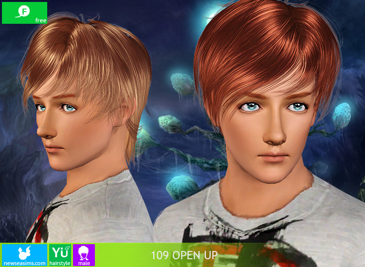 YU 109 Open Up Hair for Males от Newsea