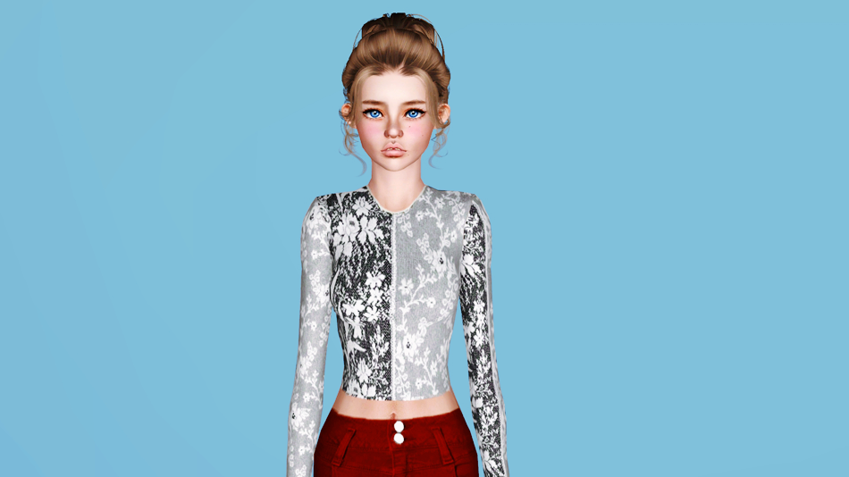 Eclectic Styles Crop Top by Plumb-Barb