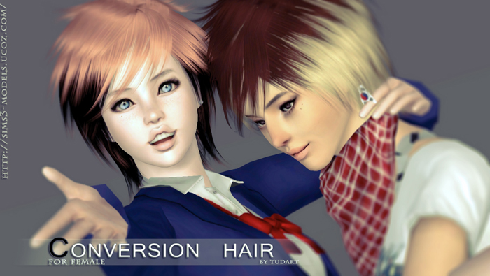 Raon Conversion Hair by TUDART