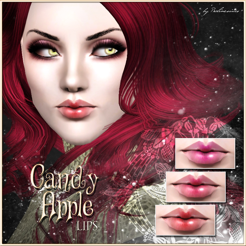 Candy Apple Lips by Pralinesims