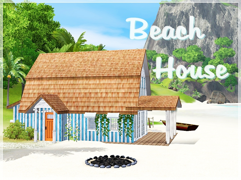 Beach House by Simsplification