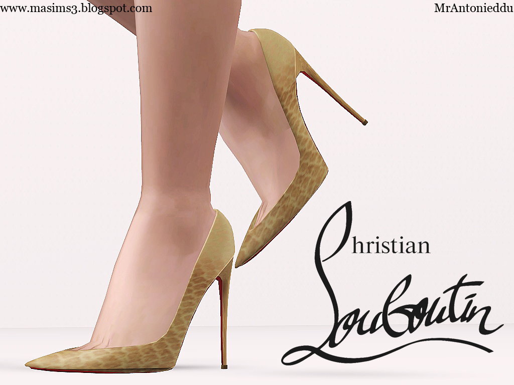 Christian Louboutin So Kate 3D Shoes by MrAntonieddu