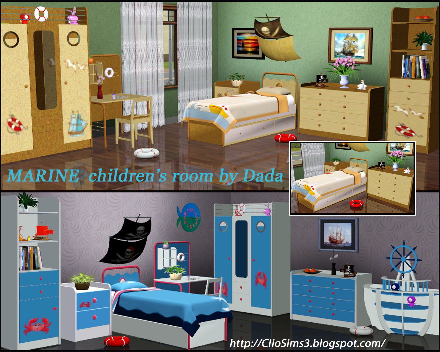 Marine Bedroom Set by Dada