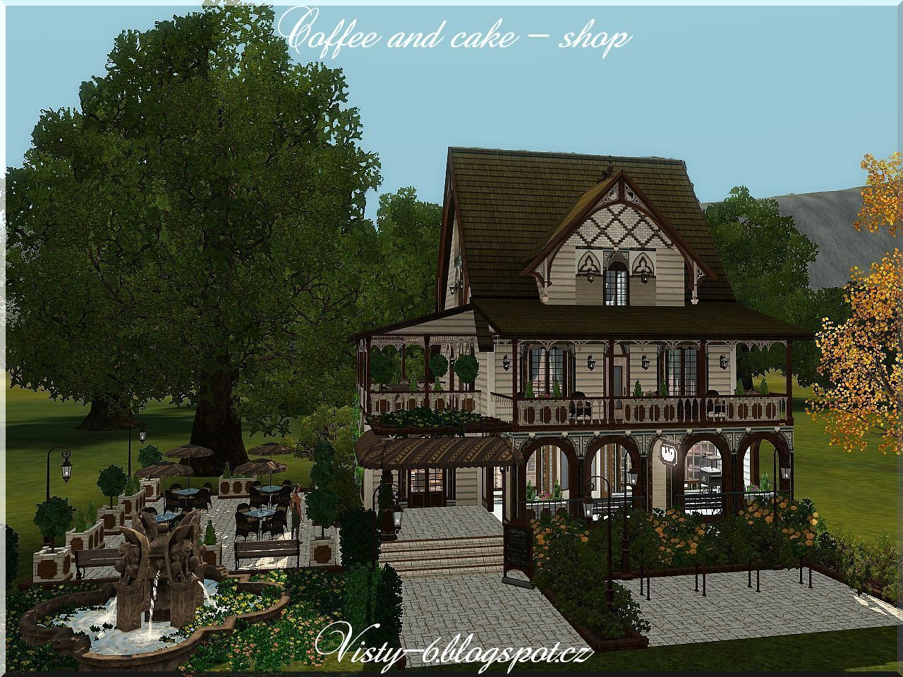 Coffee and Cake Shop by Visty6