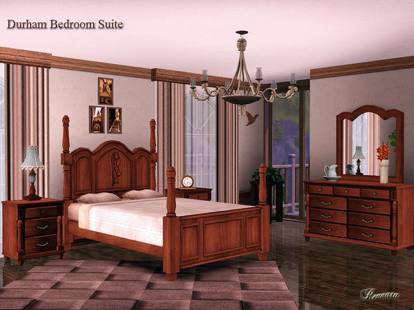 Durham Bedroom Suite by Rennara