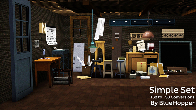 Simple Set Conversions - 56 Objects by Bluehoppersimming