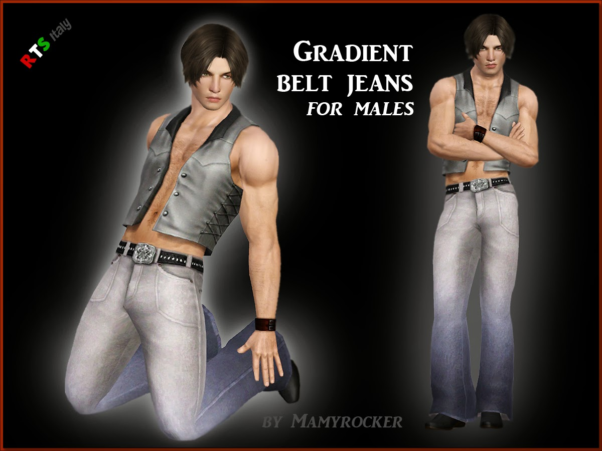 Gradient Jeans by MamyRocker