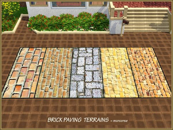 Brick Paving Terrains by marcorse