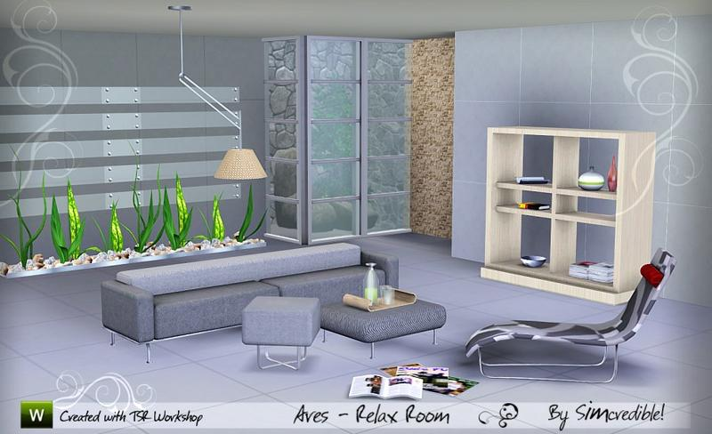 Ares Relaxing Room by SIMcredible