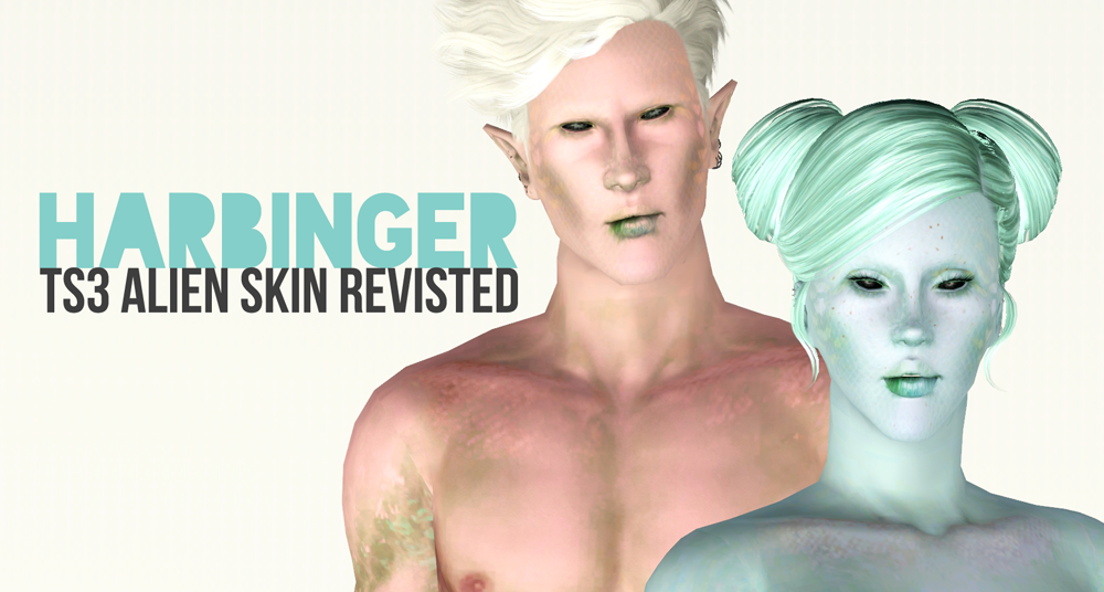 Harbinger TS3 Alien Skin Revisited by Sim It Up