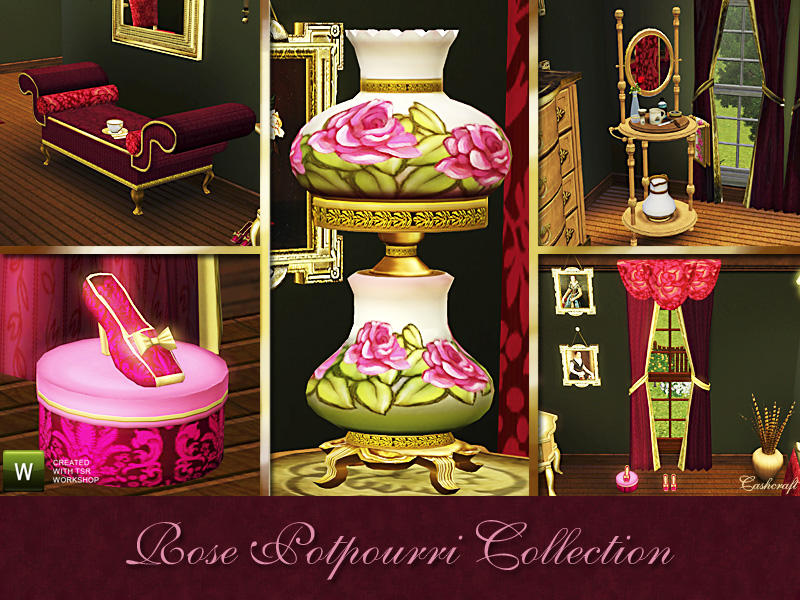 Rose Potpourri Collection by Cashcraft