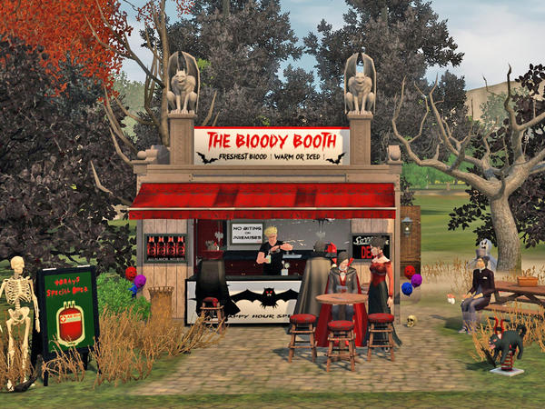 The Bloody Booth by Wimmie