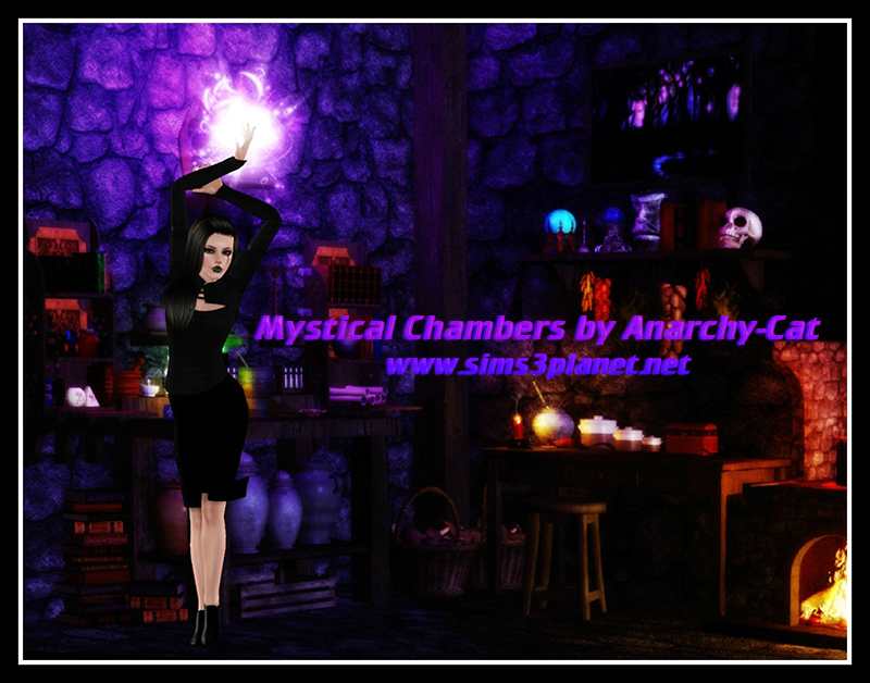 Mystical Chambers by Anarchy-Cat